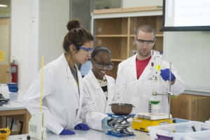 Photo of students in lab; Photo courtesy of Kennesaw State University